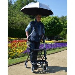 Regenschirm/Sonnenschirm für Rollator